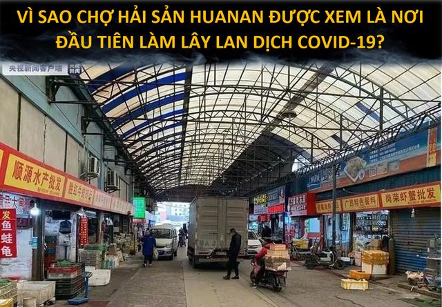 Chợ hải sản ở Vũ Hán có thực sự là ổ dịch Covid-19 đầu tiên của thế giới? - 1