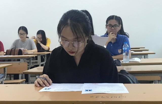 Đề thi tham khảo môn Toán tốt nghiệp THPT có câu hỏi phân loại cao - 1