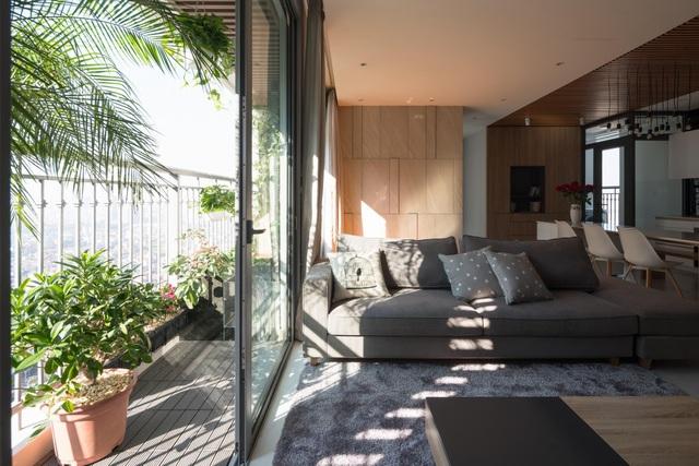 """Căn chung cư có """"khu vườn nhiệt đới"""" ngay ban công đẹp miễn chê ở Hà Nội - 9"""