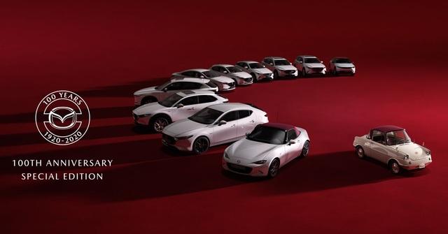 Mazda ra bộ sưu tập xe kỷ niệm 100 năm thành lập