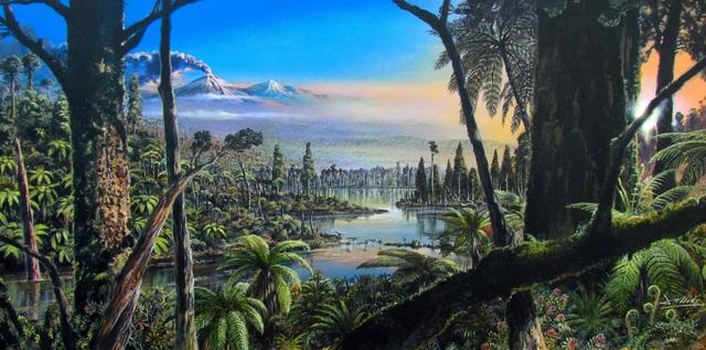 90 triệu năm trước, phía Tây Nam Cực chính là một rừng mưa rộng lớn - 1