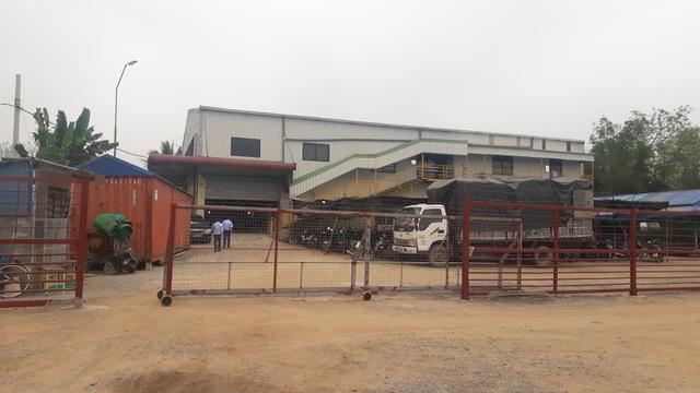 Ngang nhiên xây nhà máy may khủng trên đất nông nghiệp - 1