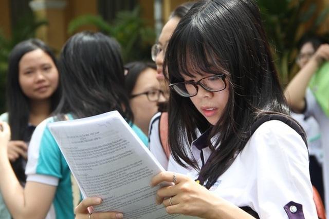 Hà Nội yêu cầu Sở GDĐT sớm đề xuất môn thi lớp 10 - 1