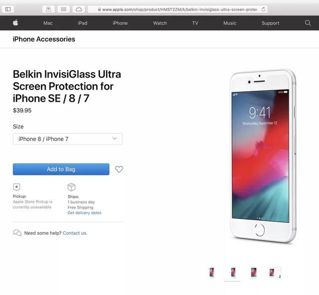 Apple vô tình làm lộ thông tin iPhone 9 , và sản phẩm chưa ra mắt - 2