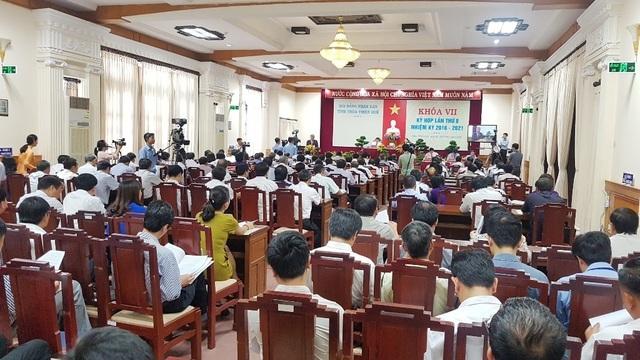 """Thừa Thiên Huế sẽ họp HĐND trực tuyến trong thời điểm """"cách ly toàn xã hội"""""""