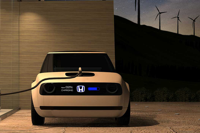 Xe chạy điện của Honda sẽ dùng pin của GM