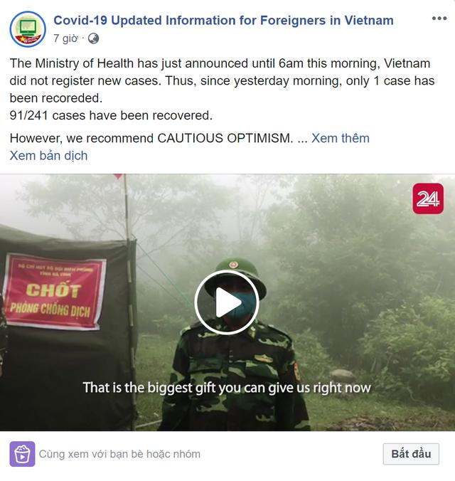 Nữ sinh cấp 3 lập trang thông tin Covid-19 cho người nước ngoài ở Việt Nam - 5