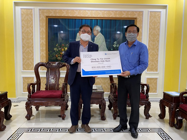 Shinhan Finance đóng góp 1,2 tỷ đồng cùng cả nước phòng chống COVID-19 - 1