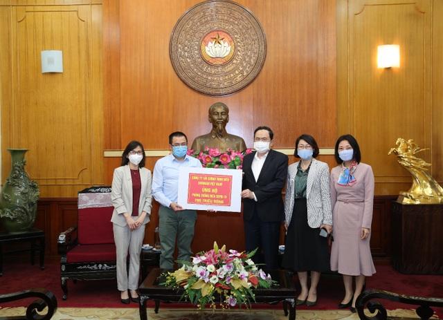 Shinhan Finance đóng góp 1,2 tỷ đồng cùng cả nước phòng chống COVID-19 - 2