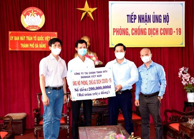 Shinhan Finance đóng góp 1,2 tỷ đồng cùng cả nước phòng chống COVID-19 - 3