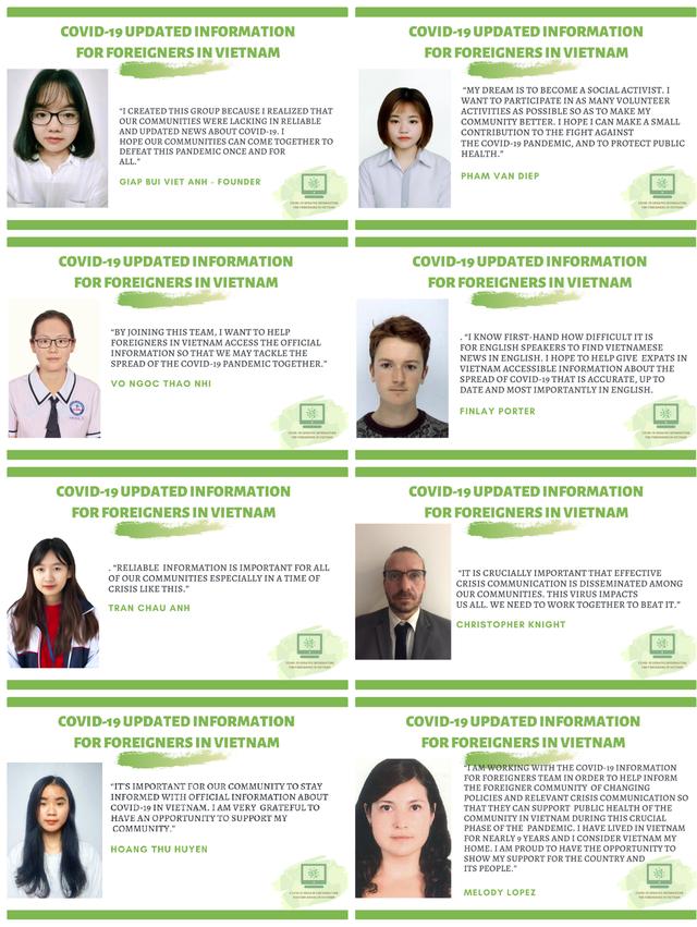 Nữ sinh cấp 3 lập trang thông tin Covid-19 cho người nước ngoài ở Việt Nam - 4