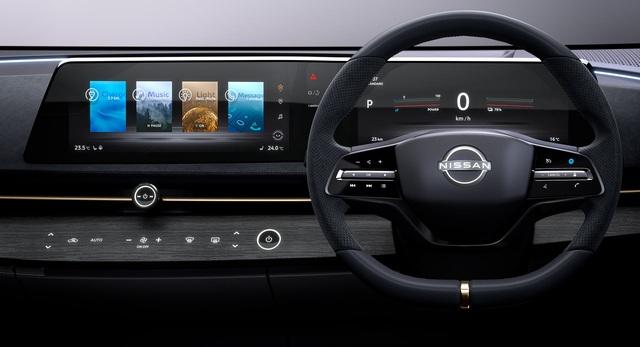 Lý do Nissan chưa thiết kế màn hình dọc như máy tính bảng - 1