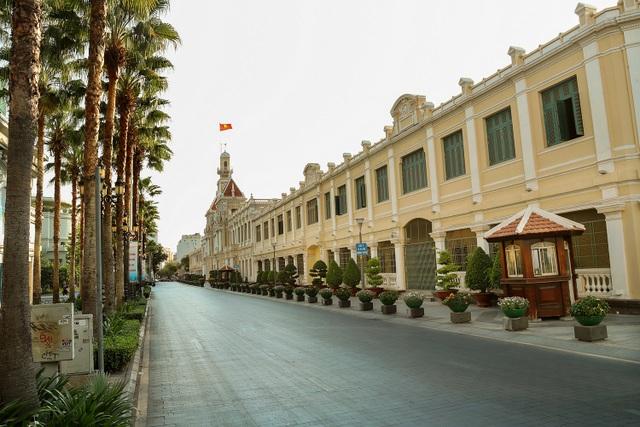 Có một Sài Gòn vắng vẻ ngoài sức tưởng tượng! - 7