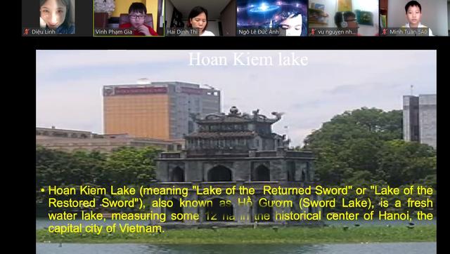 """Học sinh Hà Nội """"biến"""" giờ học online thành chuyến thăm quốc gia Đông u - 5"""