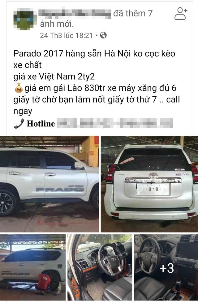 Bùng nổ ô tô cũ biển Lào bán giá siêu rẻ tại Việt Nam - 1