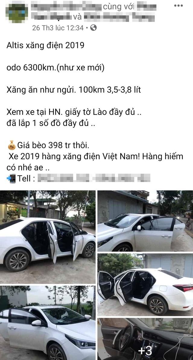 Bùng nổ ô tô cũ biển Lào bán giá siêu rẻ tại Việt Nam - 5