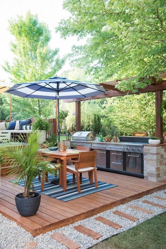 Khó rời mắt với các ý tưởng thiết kế sân vườn đẹp như resort - 10
