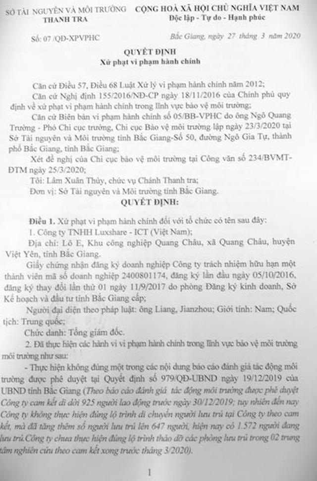 """Doanh nghiệp Trung Quốc """"làm càn"""" trước luật Việt Nam tiếp tục sai phạm - 2"""