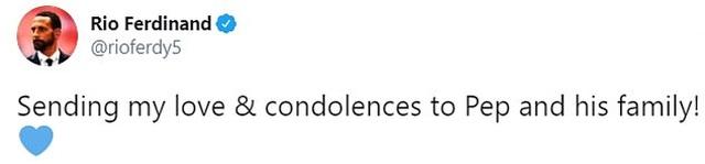 Các ngôi sao bóng đá đồng loạt chia buồn khi mẹ HLV Pep Guardiola qua đời - 4