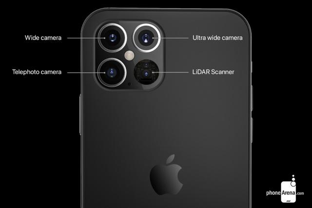 """Lộ thiết kế iPhone 12 Pro - """"Tai thỏ"""" nhỏ hơn, tích hợp máy quét laser - 2"""