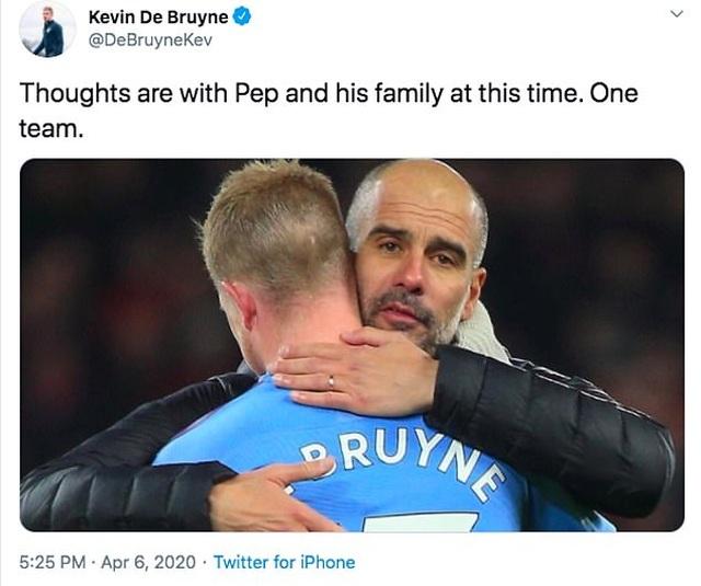 Các ngôi sao bóng đá đồng loạt chia buồn khi mẹ HLV Pep Guardiola qua đời - 5