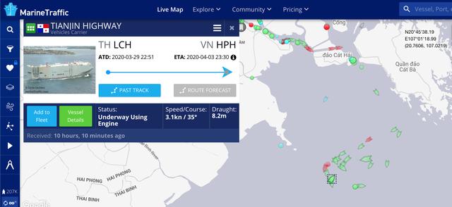 Tàu chở 2.000 ôtô nhập khẩu đến từ Thái Lan phải kiểm dịch Covid-19 - 2