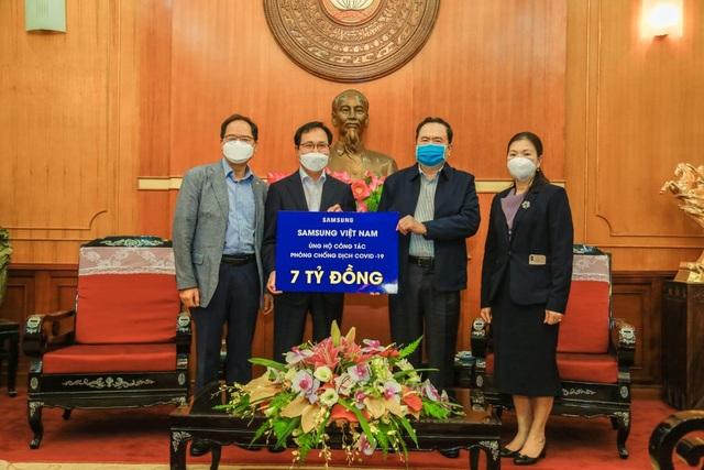 Samsung Việt Nam ủng hộ 10 tỷ đồng để phòng chống dịch Covid-19 - 1