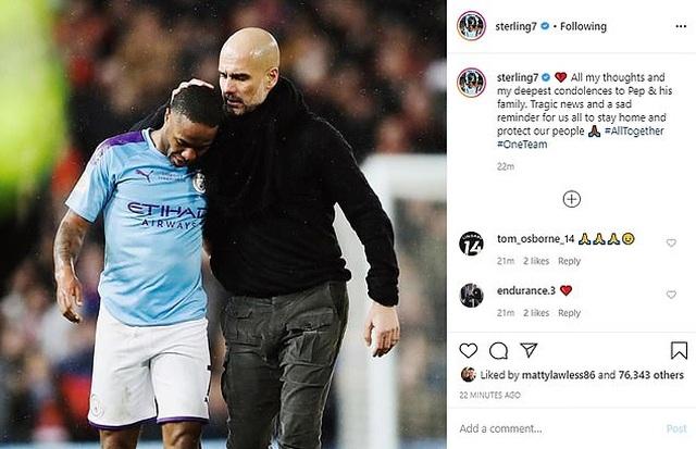 Các ngôi sao bóng đá đồng loạt chia buồn khi mẹ HLV Pep Guardiola qua đời - 6
