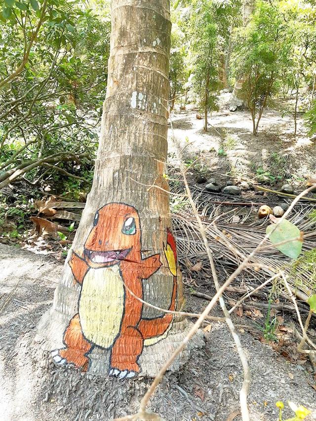 Ở nhà tránh Covid-19, cô gái Trà Vinh trang trí vườn dừa gây chú ý - 12