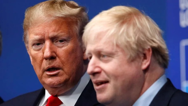 Mr. Trump proposed the support of Covid-19 treatment for British Prime Minister - 1