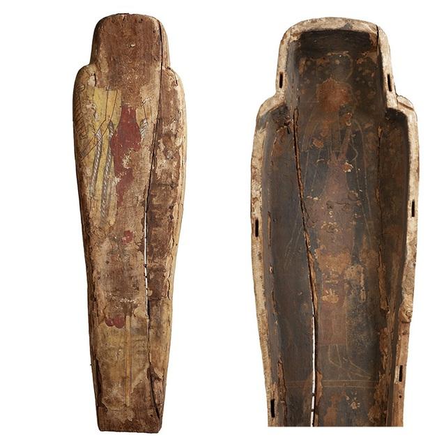 Bức tranh bí ẩn bên trong quan tài của xác ướp Ai Cập 3000 năm tuổi - 2