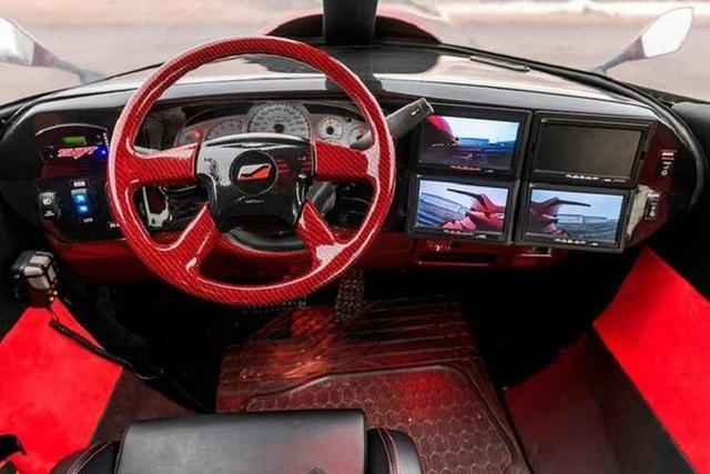Cực chất: Xe limousine trong thân xác máy bay với giá hơn 1 triệu USD - 10