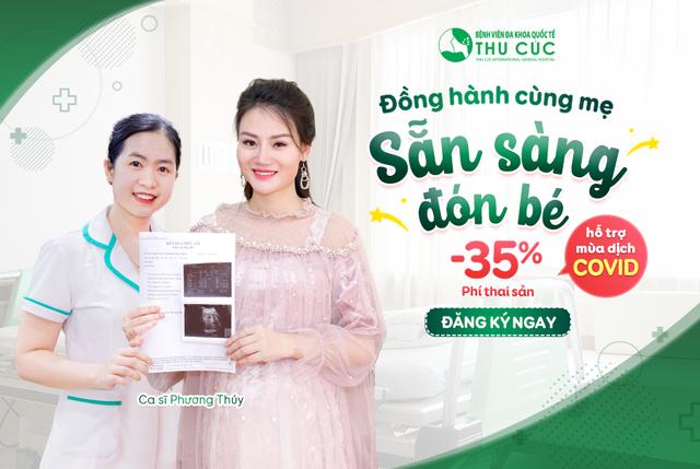 Bệnh viện Thu Cúc: Hỗ trợ 35% phí thai sản trong thời gian giãn cách xã hội - 3