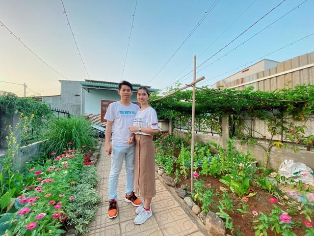 Tiết kiệm 100 triệu, vợ chồng trẻ ở Đồng Nai bỏ phố về quê đào ao, thả cá - 5