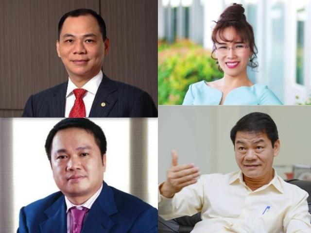 Công bố top siêu giàu thế giới: Việt Nam có 4 tỷ phú USD - 1