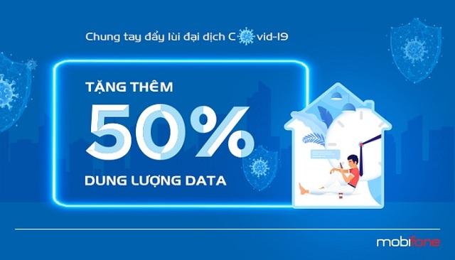 Nhà mạng đồng loạt tặng 50% data cho gói 3G/4G trong mùa dịch Covid-19 - 5