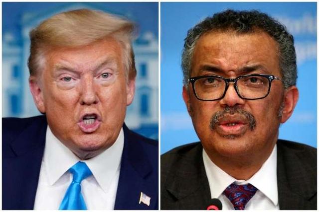 """WHO """"phản pháo"""" Tổng thống Trump: Đừng chính trị hóa virus - 1"""