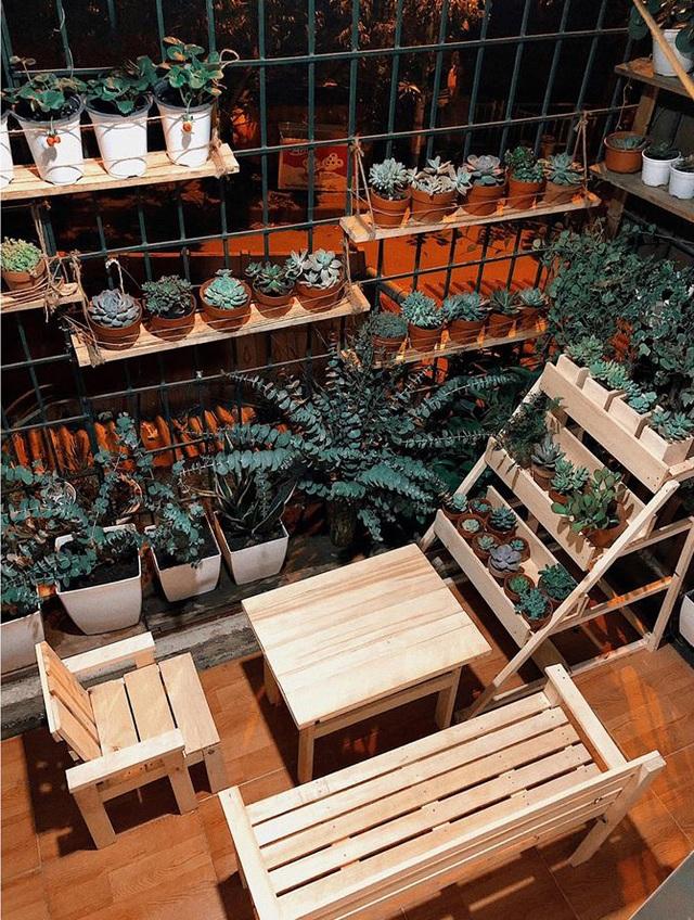 Cải tạo ban công cũ mèm 6m2 thành khu vườn thơ mộng - 11