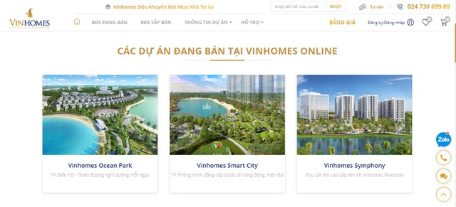 Vinhomes ra mắt Sàn giao dịch bất động sản trực tuyến - 2