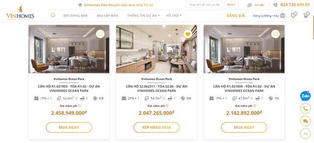 Vinhomes ra mắt Sàn giao dịch bất động sản trực tuyến - 3