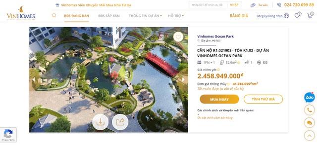 Vinhomes ra mắt Sàn giao dịch bất động sản trực tuyến - 4