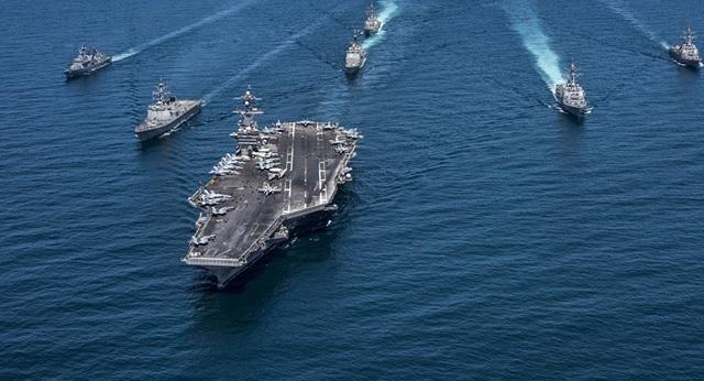 Hơn một phần ba tàu sân bay Mỹ bị ảnh hưởng bởi Covid-19 - 1