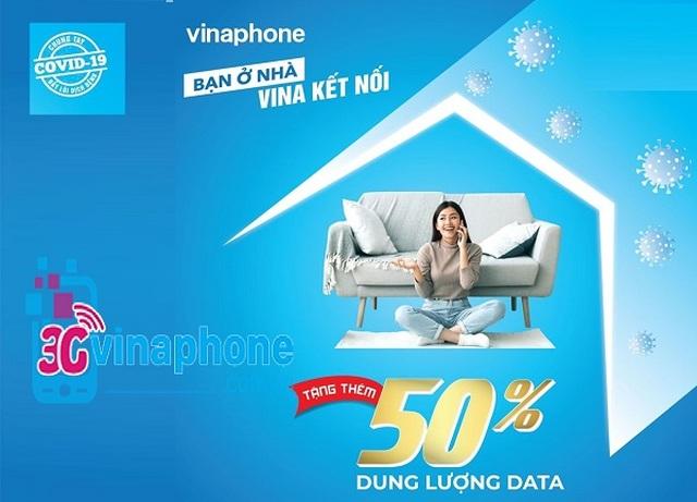 Nhà mạng đồng loạt tặng 50% data cho gói 3G/4G trong mùa dịch Covid-19 - 3