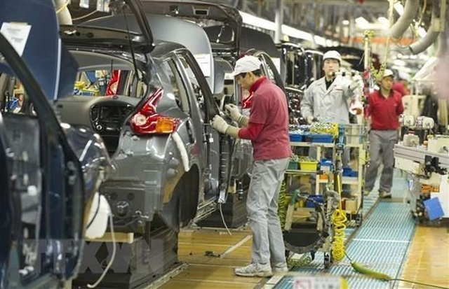 Nhật Bản: Các hãng ôtô có kế hoạch cho 20.000 công nhân tạm nghỉ việc - 1
