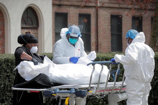 Hơn 16.000 người chết vì Covid-19, số ca tử vong ở Mỹ vượt Tây Ban Nha - 1