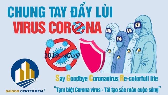 Saigon Center Real ủng hộ 200 triệu đồng chung tay phòng chống dịch Covid - 19 - 2