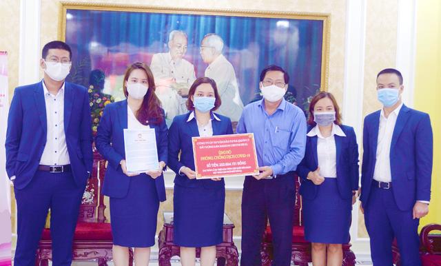 Saigon Center Real ủng hộ 200 triệu đồng chung tay phòng chống dịch Covid - 19 - 1