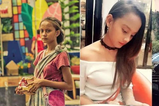 Cô gái ăn xin trở thành người nổi tiếng nhờ bức ảnh lan truyền mạng xã hội