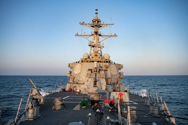 Mỹ đưa tàu chiến qua eo biển Đài Loan cùng ngày Trung Quốc tập trận - 1