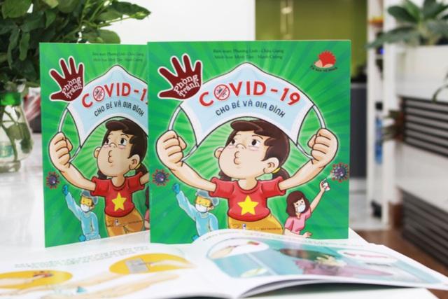 """Ra mắt sách """"Phòng tránh Covid-19 cho bé và gia đình"""" - 1"""